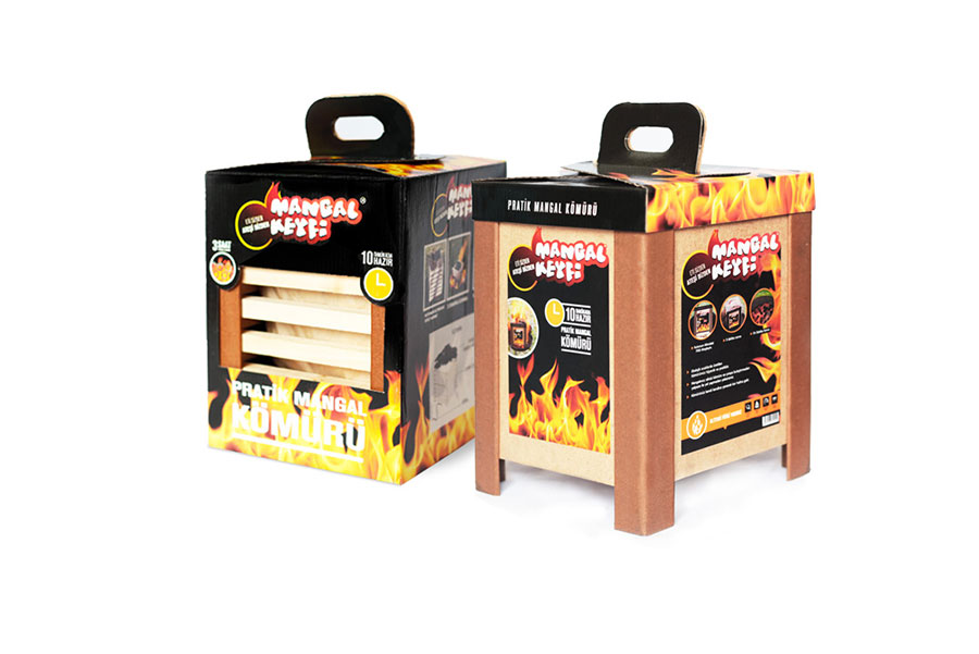 Quick Fire Practical Barbecue Pleasure  Charcoal